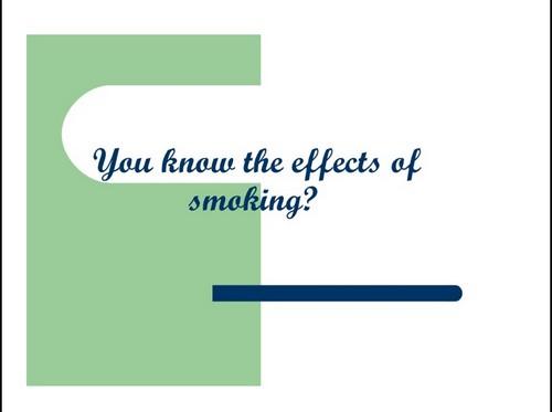 презентация на тему курение на английском языке
