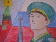 Картинки служу россии для срисовки