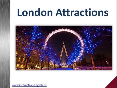 Достопримечательности Лондона – презентация на английском ...