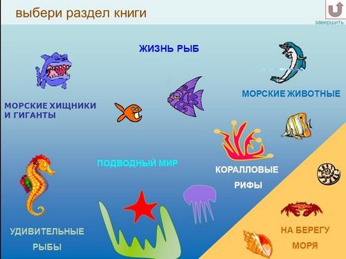 Урок изо 2 класс подводный мир постройка и реальность